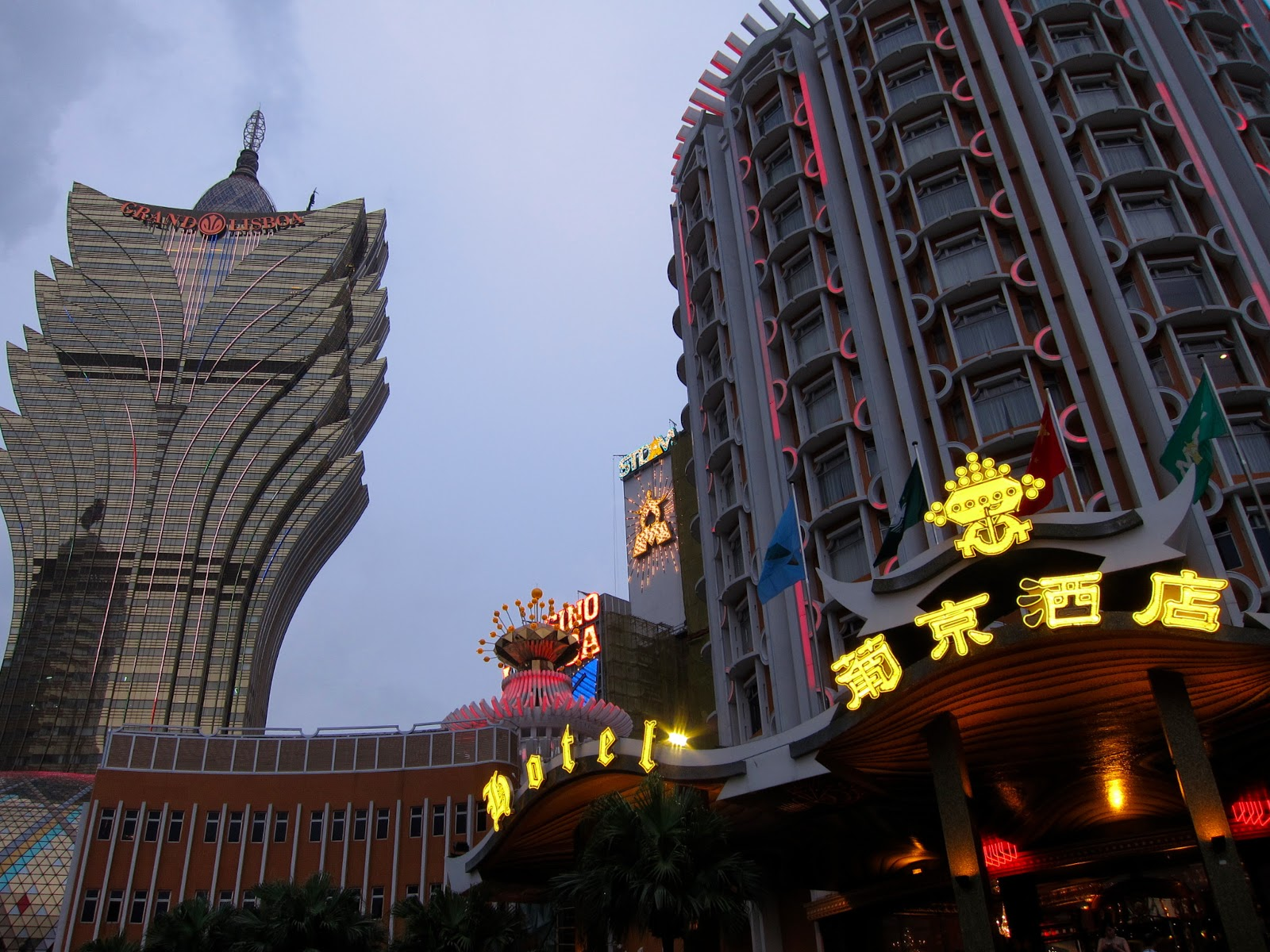 Macau gambling minimum age