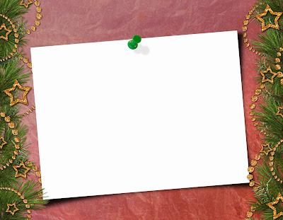 Una tarjeta con una tachuela linda para poder escribir algun mensaje