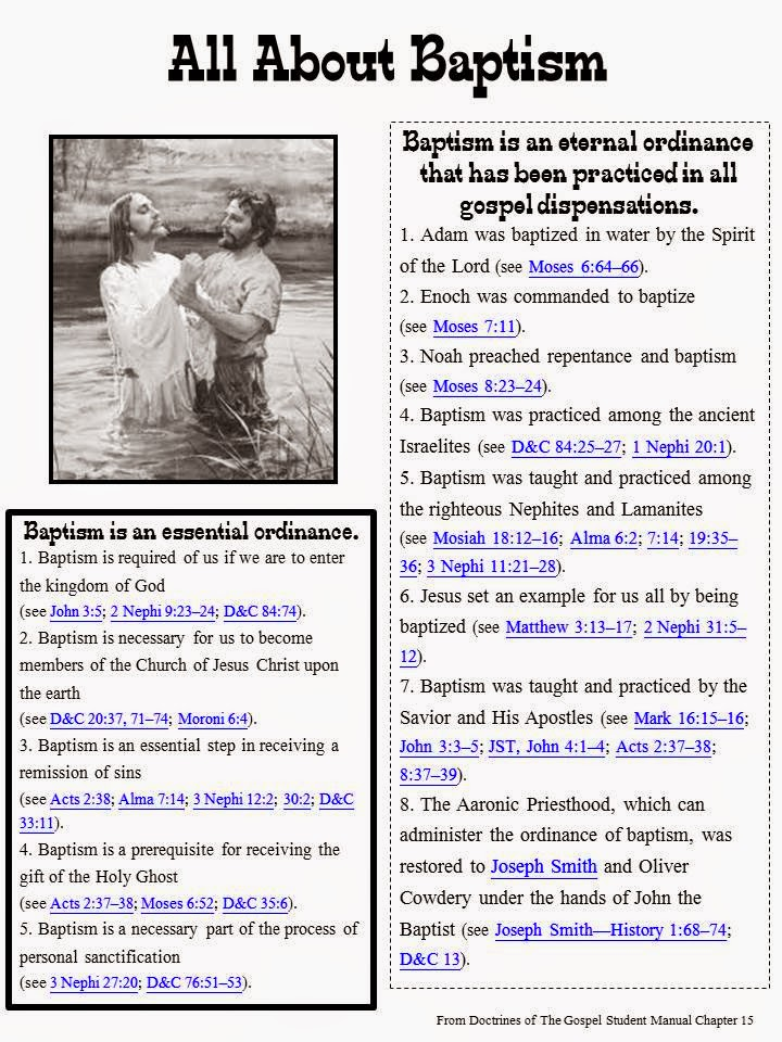 Sofia's Primary Ideas: LDS Baptism & Holy Ghost Outline ...