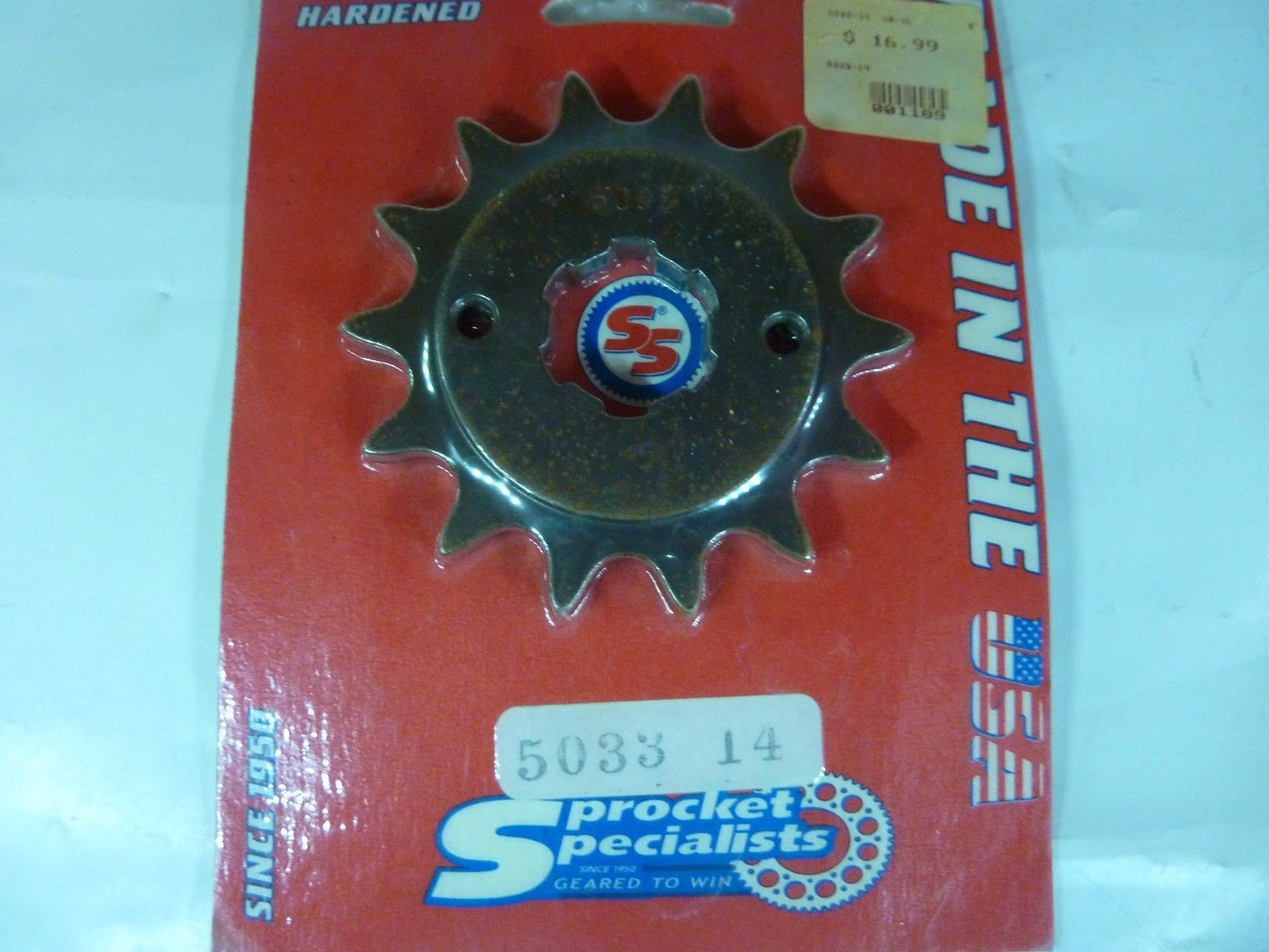 Sprocket Specialists 5033-14 XR XL NX - JTF281.14 - Steel Front Sprocket, 14T