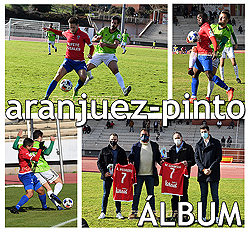 FOTOS: Real Aranjuez - At. Pinto