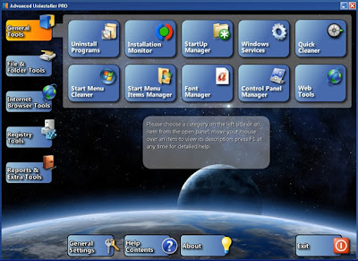 ADVANCED UNINSTALLER PRO 11.0 FREE