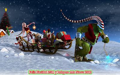 Nuevos wallpapers para Navidad 2011 (1920x1200px)