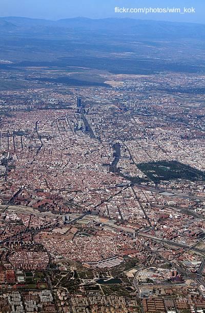 Ciudad de Madrid capital de España