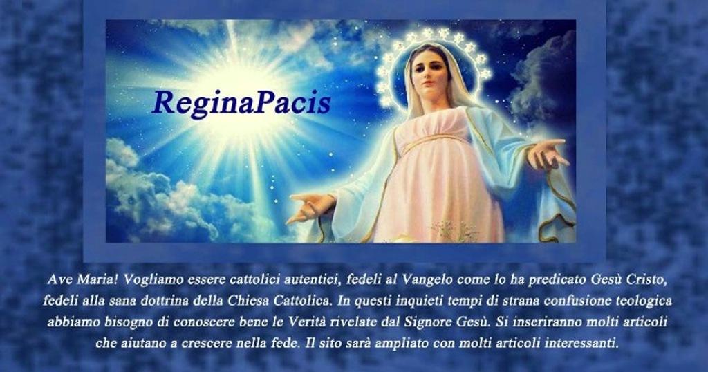 Facebook ReginaPacis
