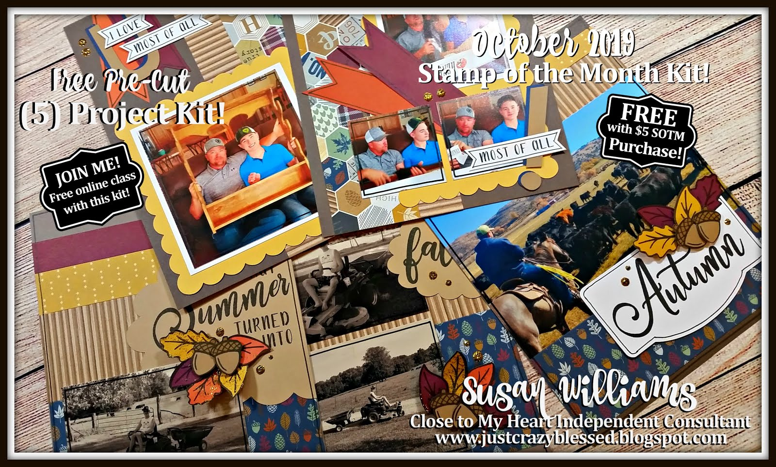 October 2019 Stamp of the Month Workshop!