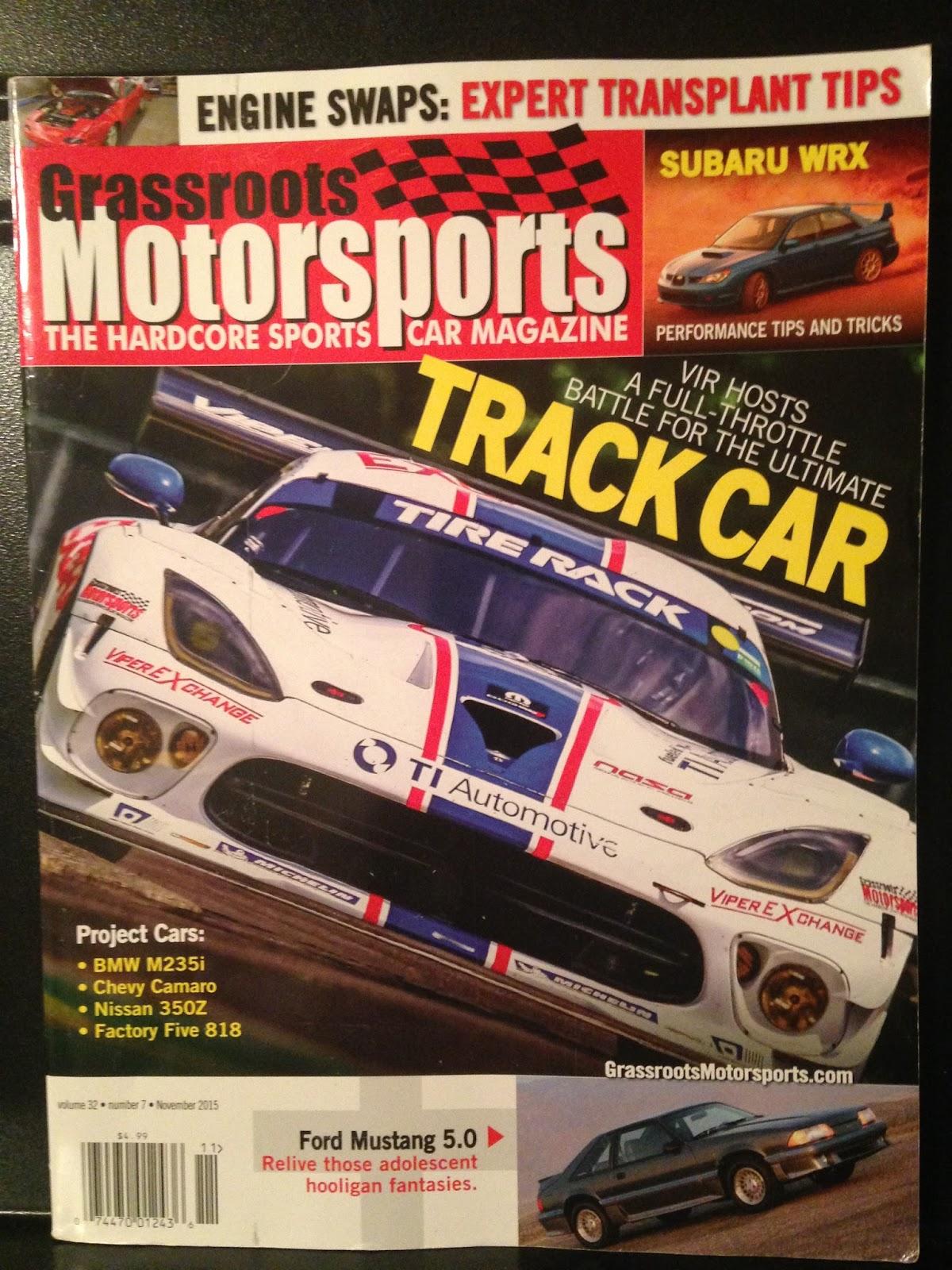 Nixon Motor Sports Motoring Magazine MashUp - Sports cars 5 letters