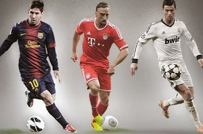 FIFA Golden Ball Candidates 2013
