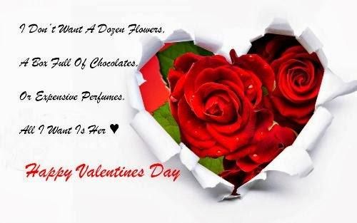 Happy Valentines Day 2014 Facebook Status