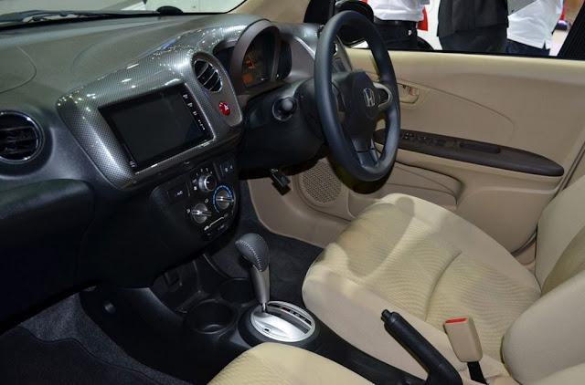 Honda Amaze Modulo Interior