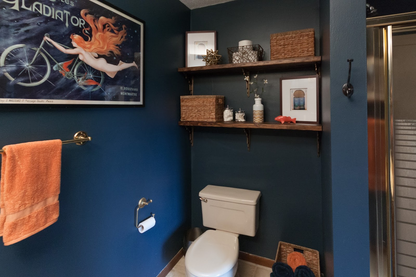 Russet Street Reno: Our finished bathroom