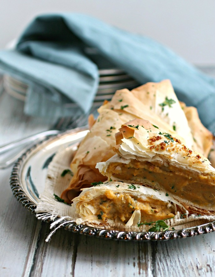 Savory Caramelized Onion and Potato Pastries