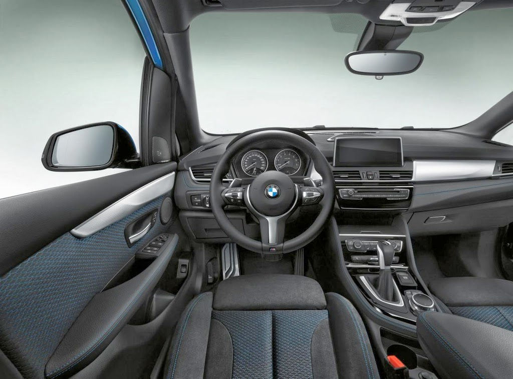 erste bilder vom bmw 2er active tourer m sport myauto24. Black Bedroom Furniture Sets. Home Design Ideas