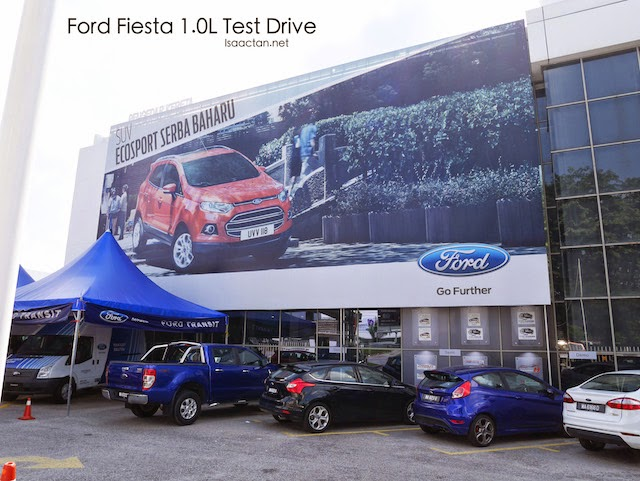 The New Ford Fiesta 1.0L Test Drive Experience
