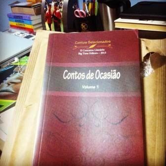 Capa do livro Contos de Ocasião, da Big Time Editora