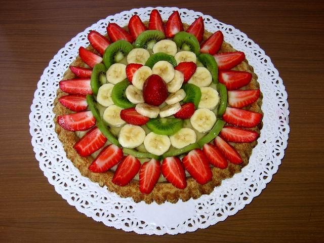 La cucina vegana di elettra crostata di frutta - Decorare frigorifero ...