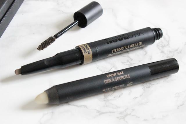 Nudestix Eyebrow Pencil Stylus & Gel and Brow Wax
