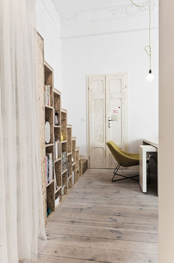 29 square meters apartment 3xa arquitects entrance
