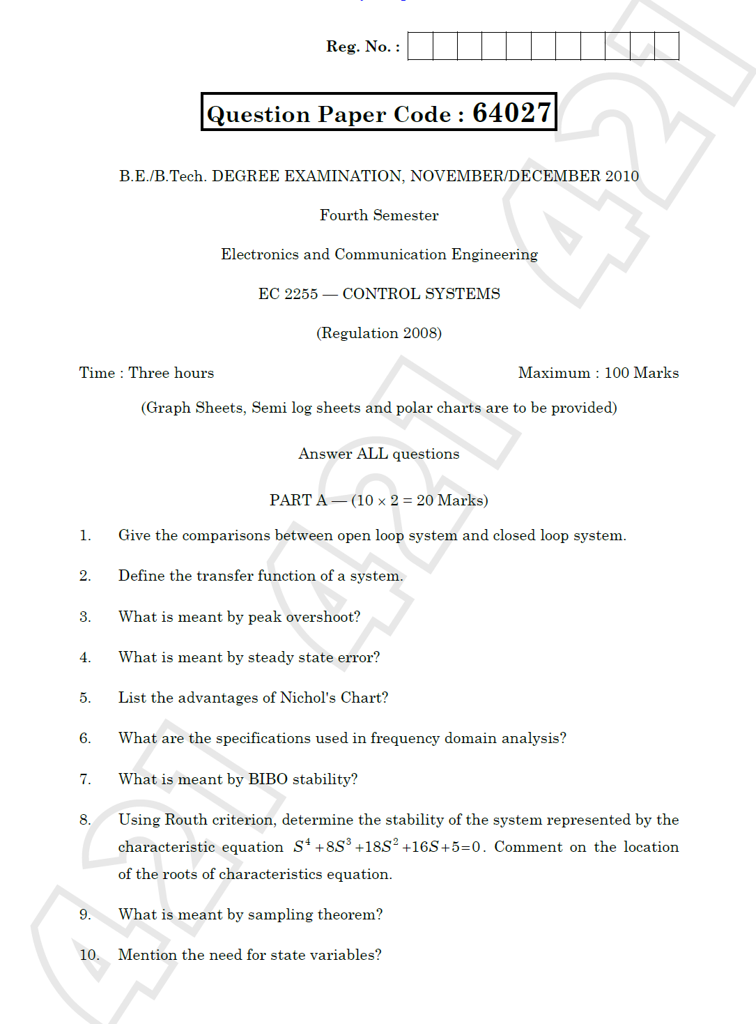 Anna university answer sheet after correction PQT  amp  maths   As you will click  pdf file will open containing Course Work   Model Question Paper  Research methodology  Address  Jiwaji University