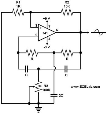 sine wave generator the circuit sine wave oscillator circuits using icl8038 sine wave oscillator circuits using icl8038