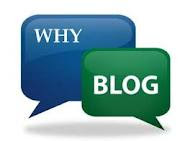 Why do we Blog