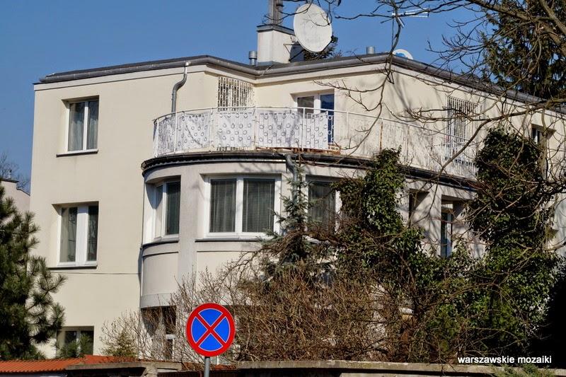 Warszawa Żoliborz wille