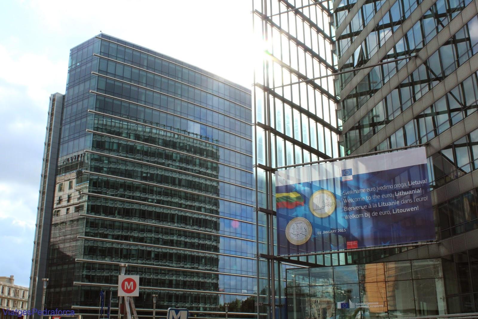 Barri Europeu de Brussel.les Comissio Europea
