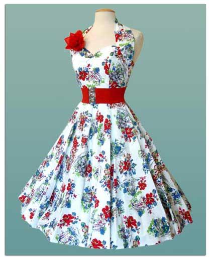 Сшить ретро платье
