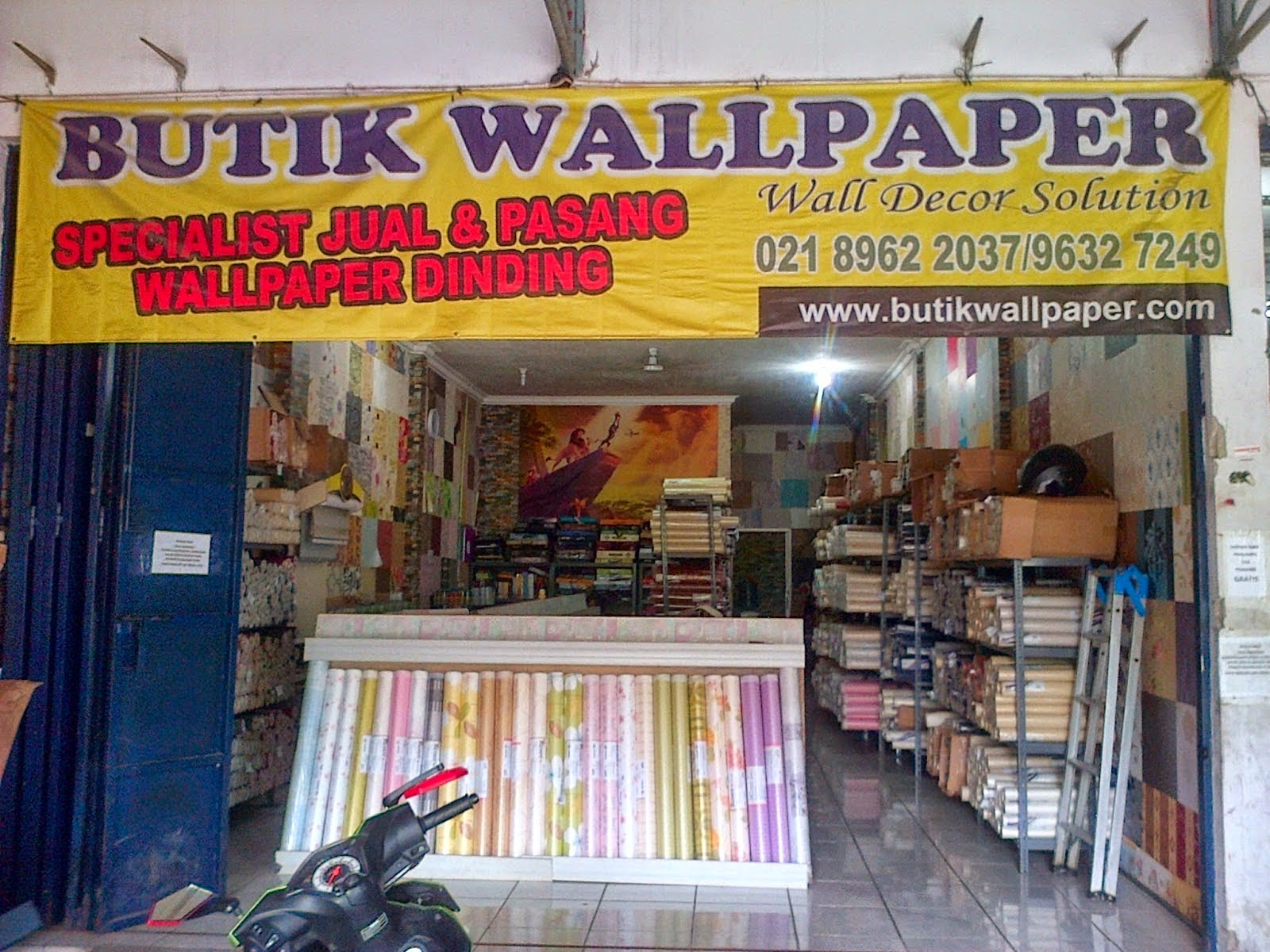 Butik wallpaper i jual wallpaper dinding murah for Wallpaper home murah