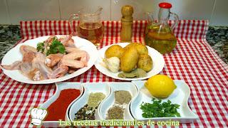 receta fácil de alitas de pollo adobadas
