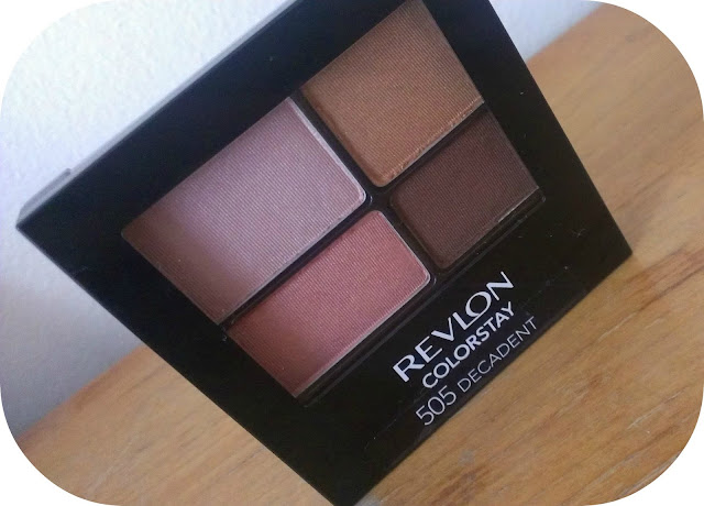 Revlon Color Stay Eyeshadow Quad in Decadent