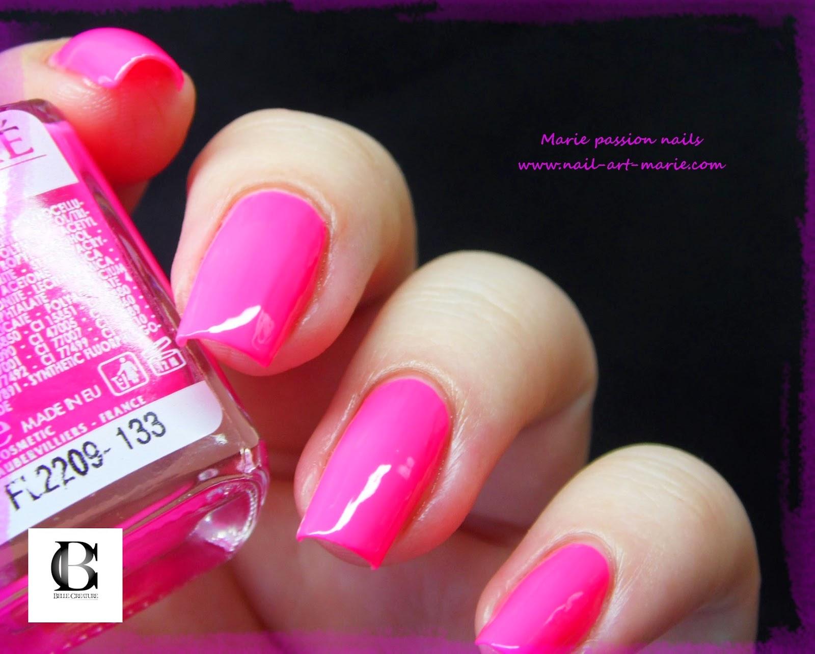 Salomé Luxe rose fluo6