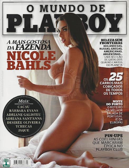 Confira as fotos das mulheres do Mundo Playboy, Nicole Bahls, Cacau, Bárbara Evans, Adriana Santanna, Desirée Oliveira, As Tchecas e Jaque do BBB, edição da Playboy de julho de 2012!