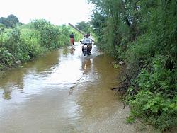 Estrada que liga Currais Novos á Cachoeira em 06.05. 2011