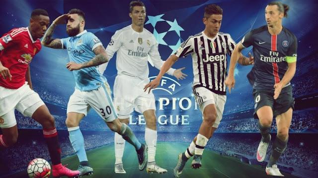 Horários - Champions League