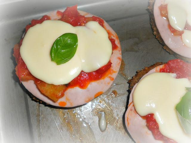 hambuger impanati alla pizzaiola