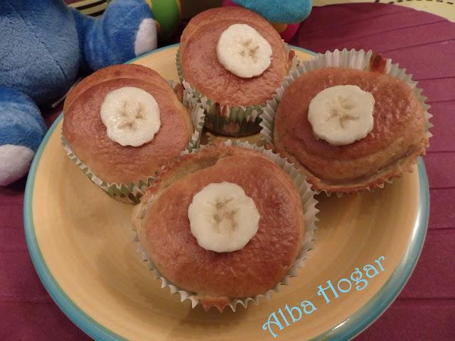 homebaby enol blw magdalenas de plátano