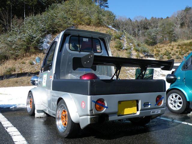 Daihatsu Midget II, dziwne, szalone, samochody, mało spotykane, unikalne, japońska motoryzacja