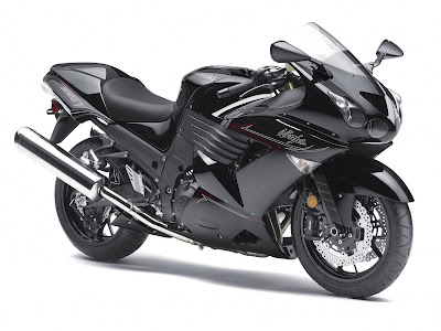 2011 Kawasaki Ninja ZX-14 Black Color