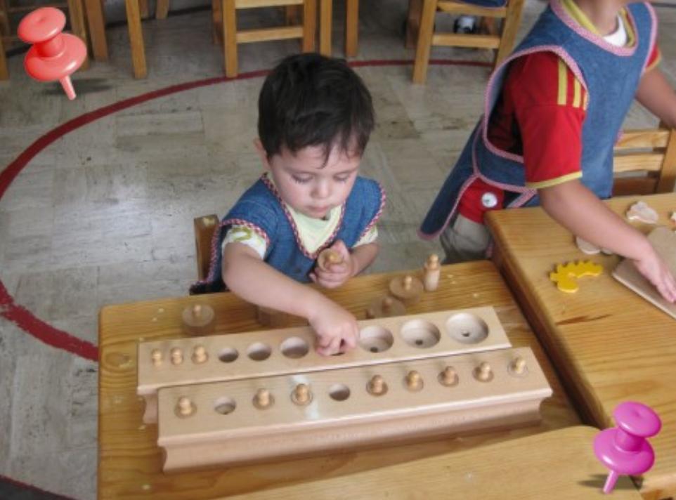 Educación Montessori: Ejemplos de aplicacion del Metodo Montissori