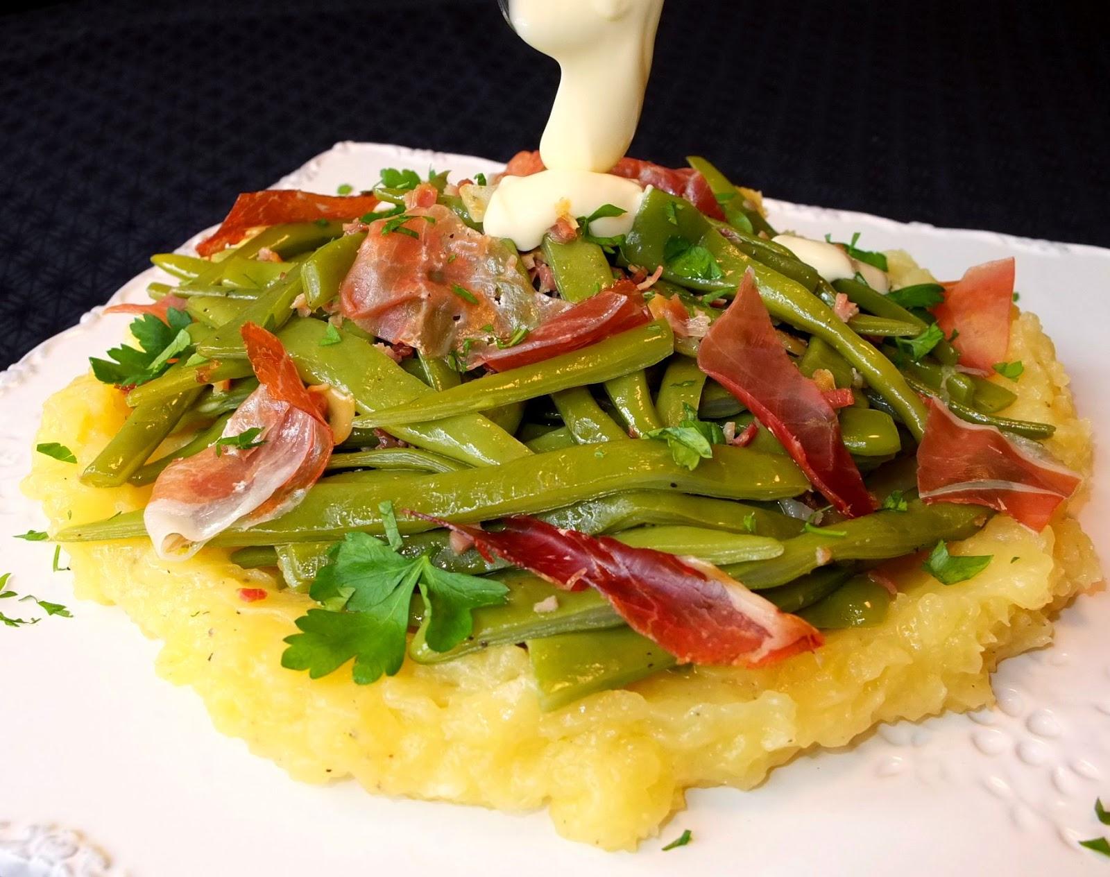 Cocinando con lola garc a jud as verdes con pur de - Como hacer judias verdes ...