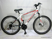 A 26 Inch Darson DS2618 18 Speed Shimano HardTail Mountain Bike