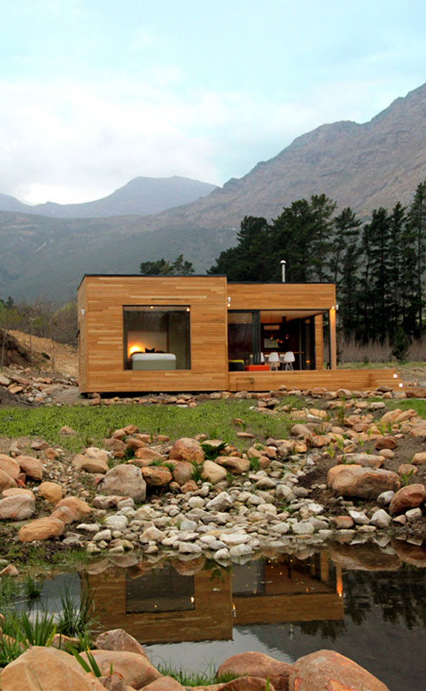 Eco Home In Franschhoek South Africa Luxury Mansions