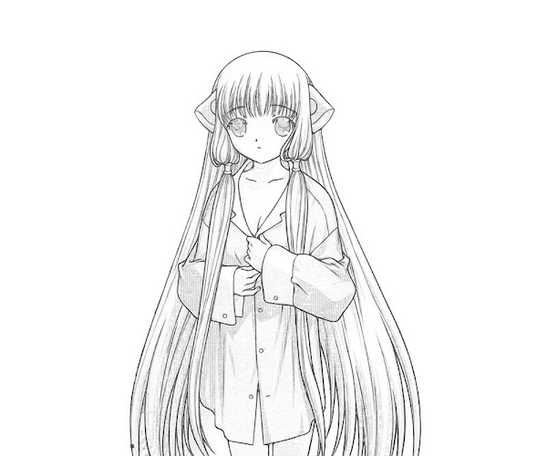 Chobits Chi Coloring Pages
