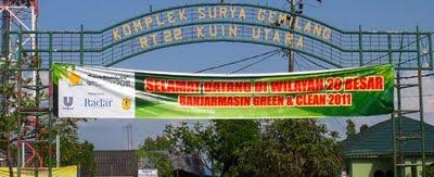 20 Besar Banjarmasin Green And Clean 2011