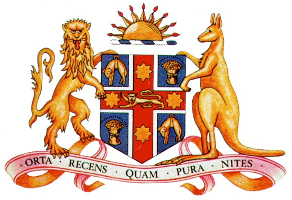 bytes  new south wales coat of arms and stuff