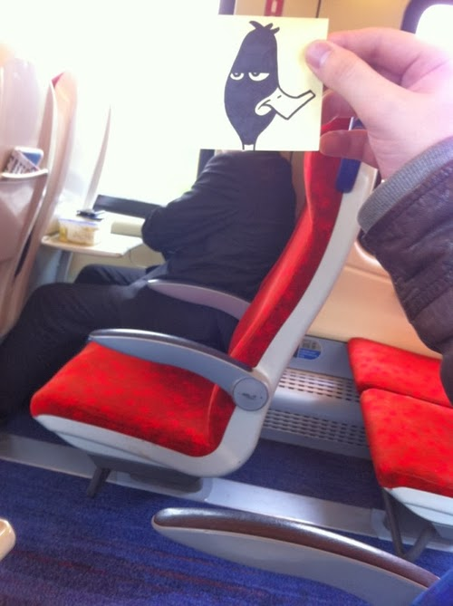 06-Duck-October-Jones-Bored-on-the-Train-Designs-www-designstack-co