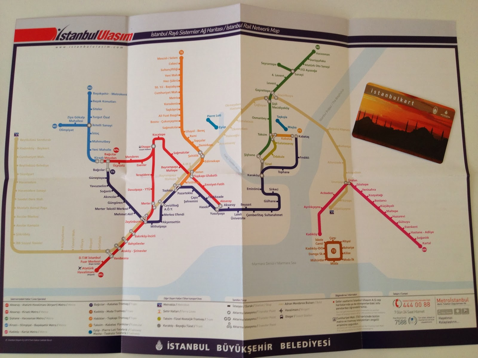 Istanbul - I'm a big transit buff so I was super excited to get a Turkish metro card!