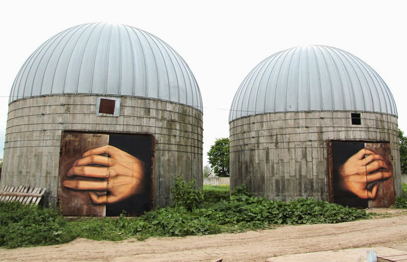 The Best Examples Of Street Art In 2012 And 2013 - By Nikita Nomerz