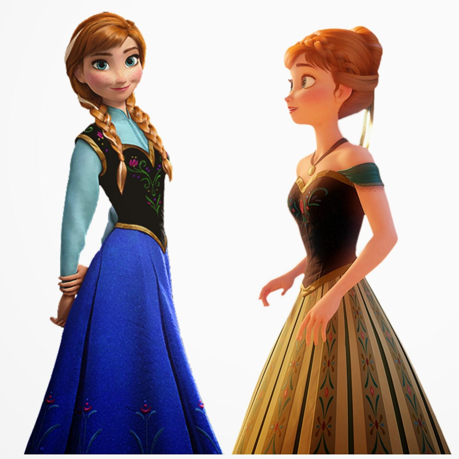 Princess anna dress images